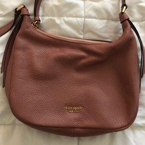 Dark Mauve Kate Spade Crossbody Bag